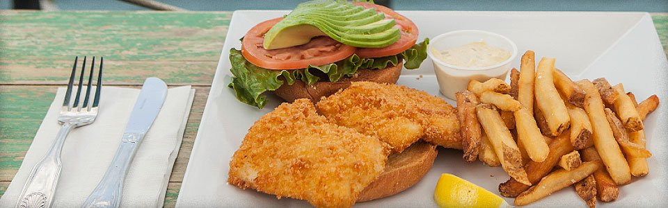 Photo of Key West Fried Fish Sandwich