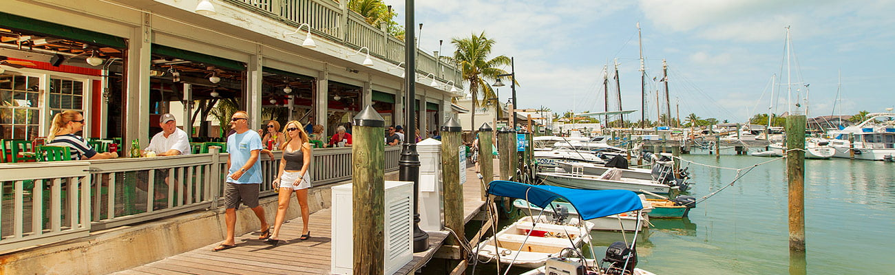 Photo of Restaurant in Key West Historic Seaport