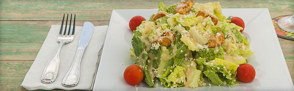Photo of Romaine Lettuce Salad