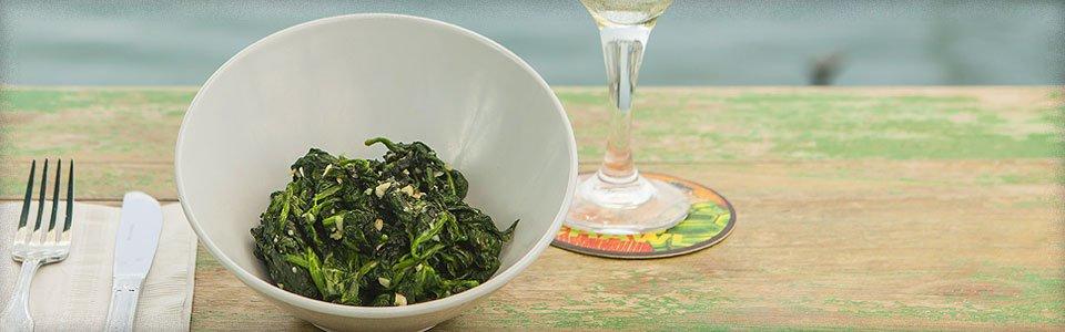 Photo of Garlic Spinach