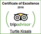 Turtle Kraals Certificate of Excellence