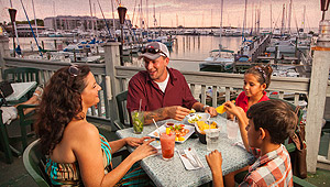 Image of Family Dining At Tower Bar
