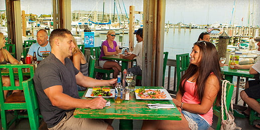 Key West Historic Seaport Dining