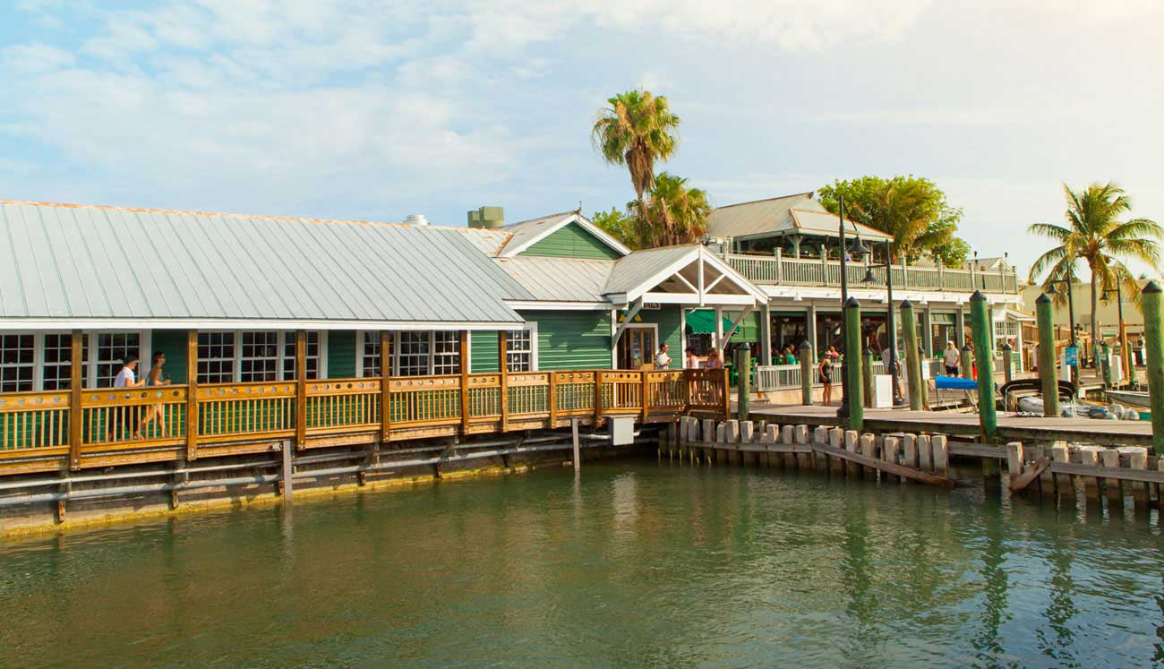 Key West Seafood Restaurants Turtle Kraals Caribbean Cuisine