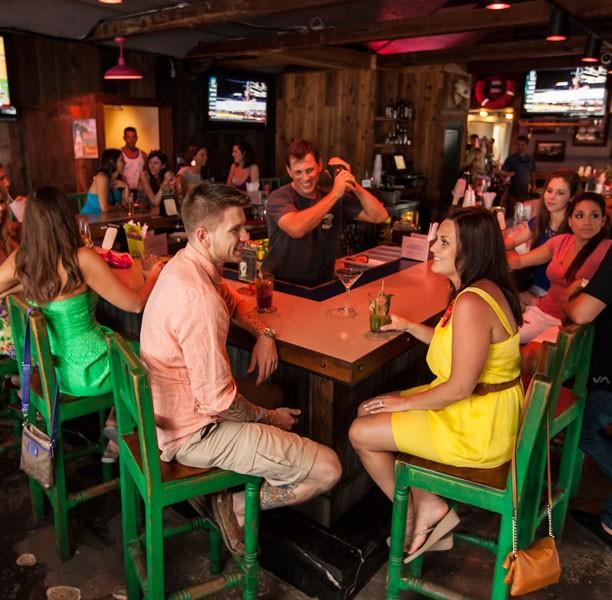 turtle kraals restaurant inside bar area