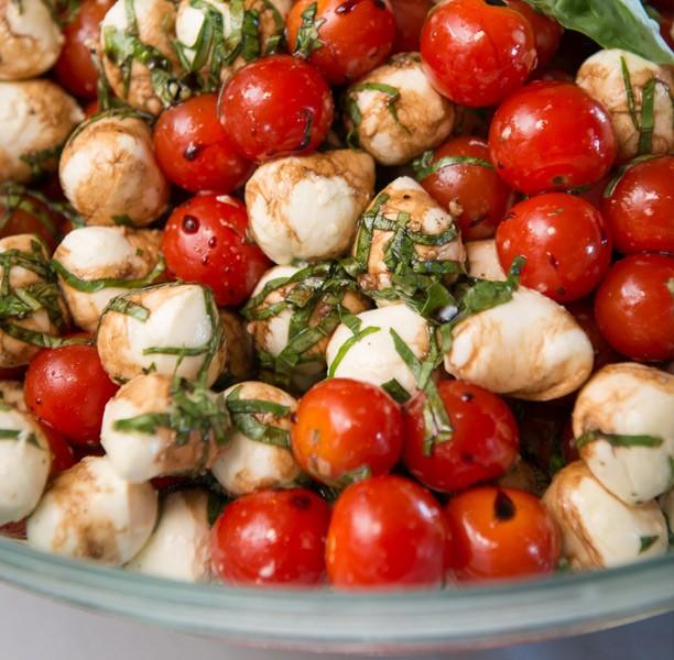 turtle kraals tomatoes mozzarella